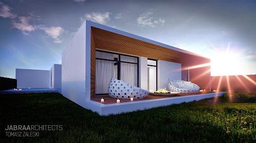 SkyFall House by JABRAARCHITECTS Tomasz Zaleski