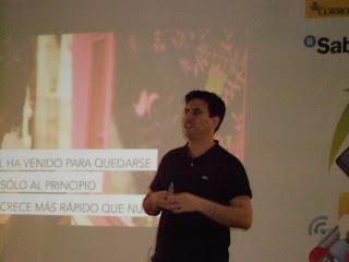 Imagen de Sebastián Muriel, VP Corporate Affairs de Tuenti - más imágenes en flickr.com/photos/gcorreszamacola