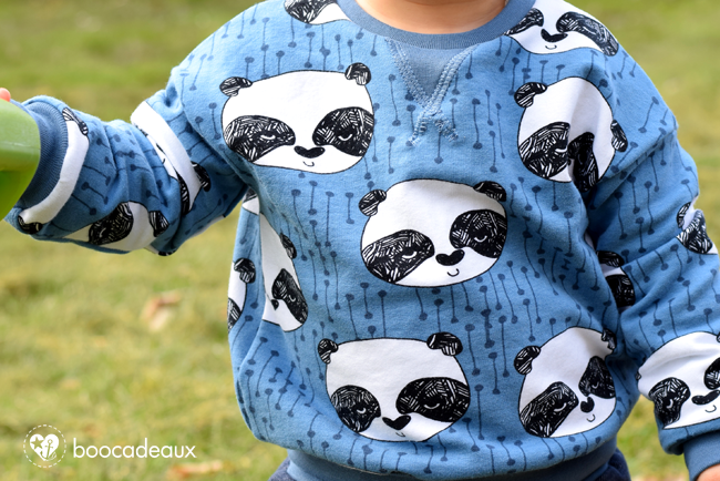 New York Sweater aus Pandas