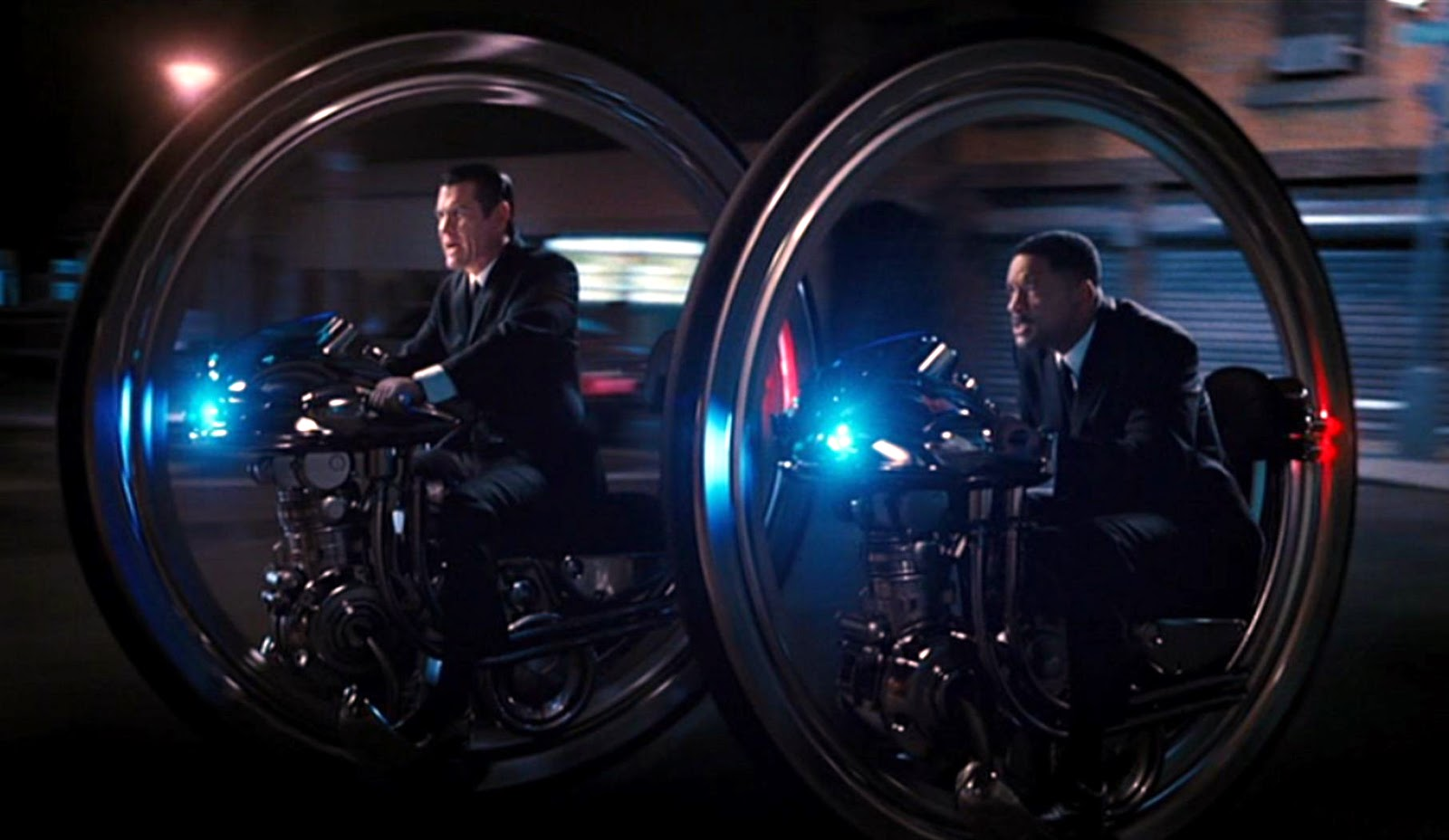 Just A Car Guy: Men In Black 3, the motor wheels, the cars ...