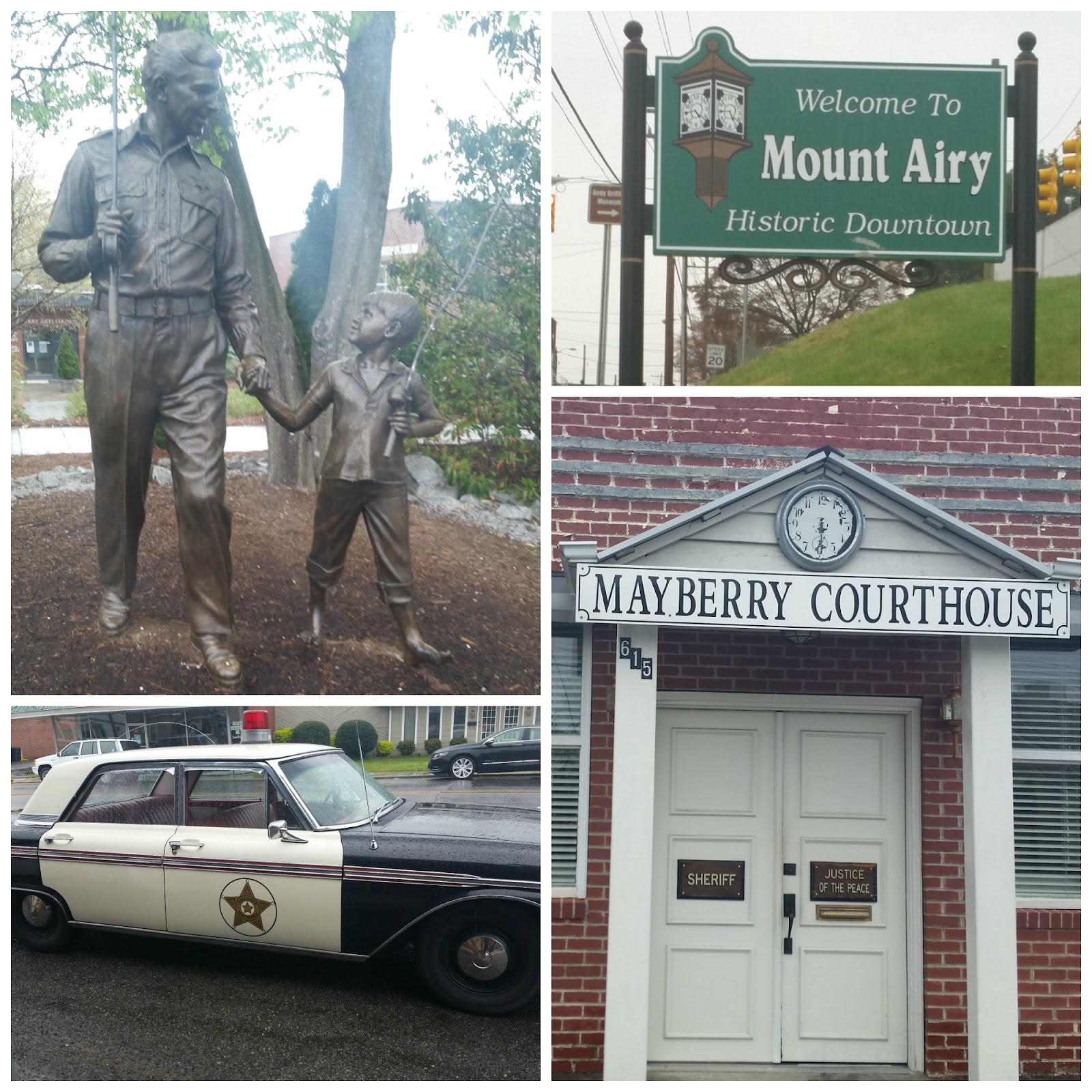 Mayberry in Mount Airy North Carolina