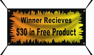 Halloween Contest Winner Gets $30 in Free Product