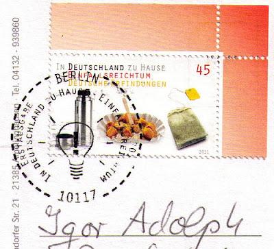 In Deutschland zu Hause-Einfallsreichtum - Alltag - Ersttag Berlin