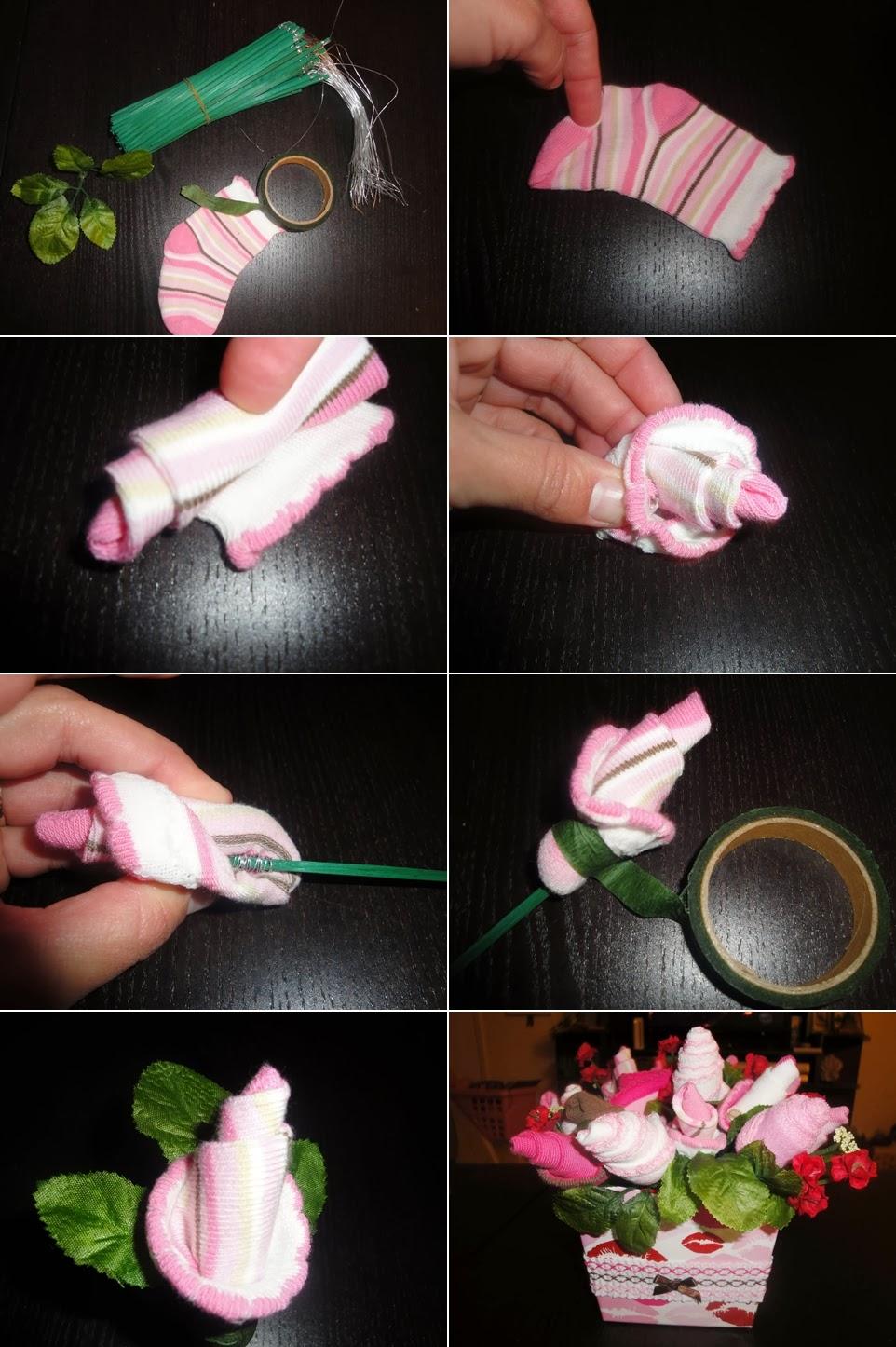 diy baby shower flower bouquet diy craft projects