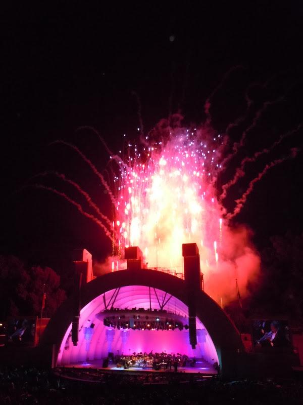Fireworks Hollywood Bowl