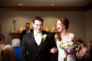 Warm Intimate, Winter Wedding Ceremony