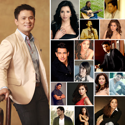 Ogie Alcasid Launches 25th Anniversary Album 'The Songwriter and The Hitmakers'