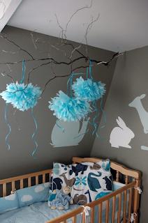 Ideas para Decorar Interiores con Pompones by artesydisenos.blogspot.com