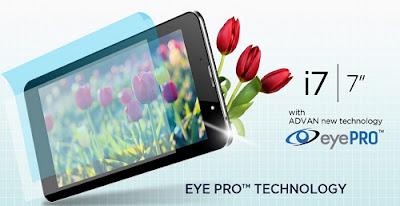 Spesifikasi Advan Tablet I7