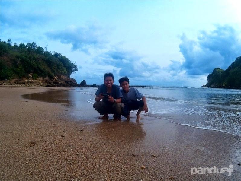 Seflie di Pantai Pangi