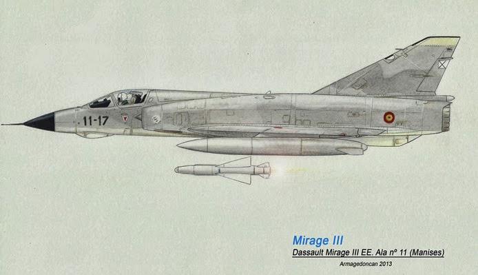 Los dibujos de Armagedoncan Armagedoncan-Mirage-III