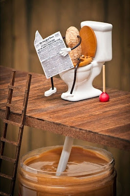 Funny Picture How Peanut Butter Is Made