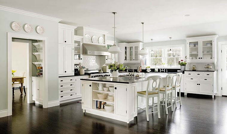 Little Cove Design White Kitchens To Make You Green With