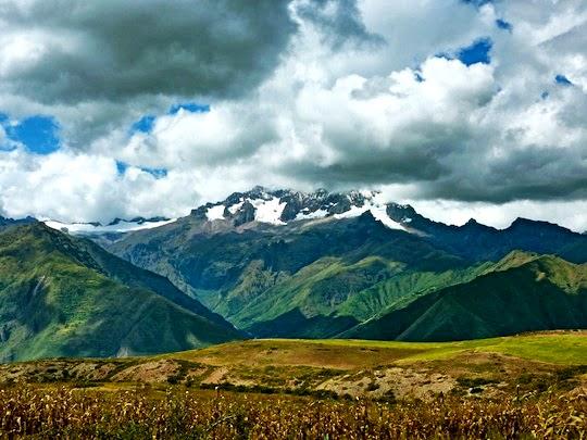 Moray Maras Hike Landscape, Peru