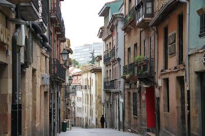 Calles de Oviedo. Blog Esteban Capdevila