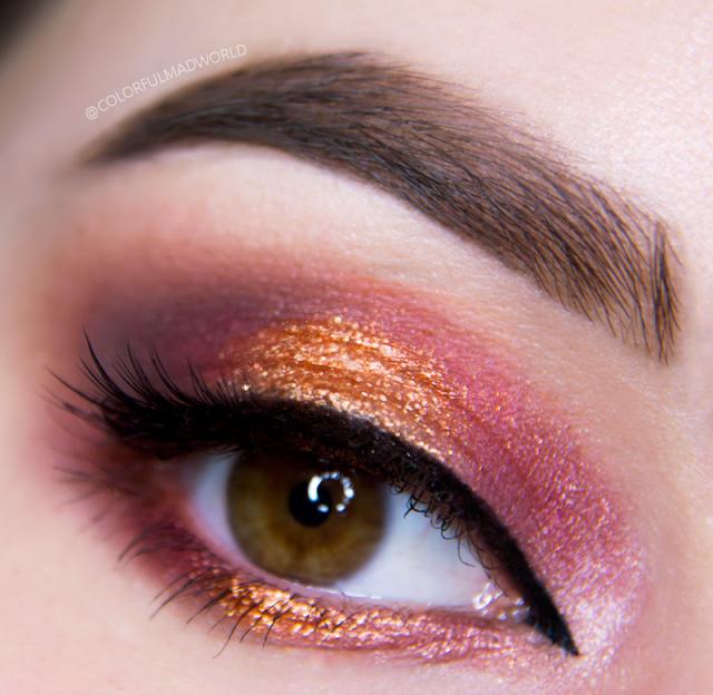 makijaz na karnawal, blyszczacy makijaz, makeup tutorial