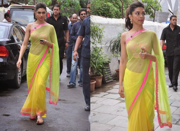 Celebrities Wearing Neon Sarees | Bollywood Fashion Trend ...