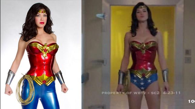 """Adrianne Palicky en la serie no emitida de """"Wonder Woman"""" (2011)"""