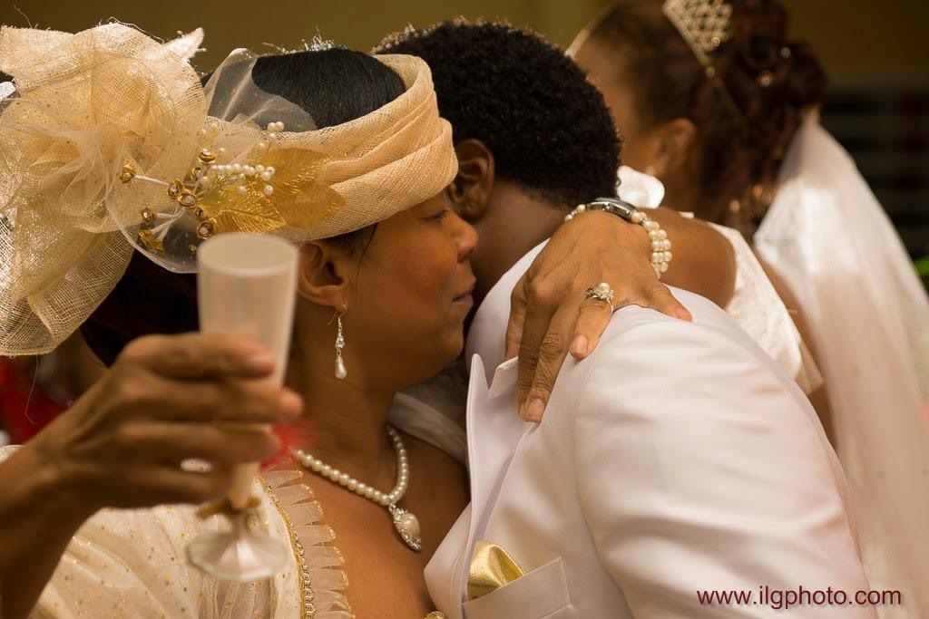 Mariage de Steffy et Manuel: réception, la maman félicite son gendre