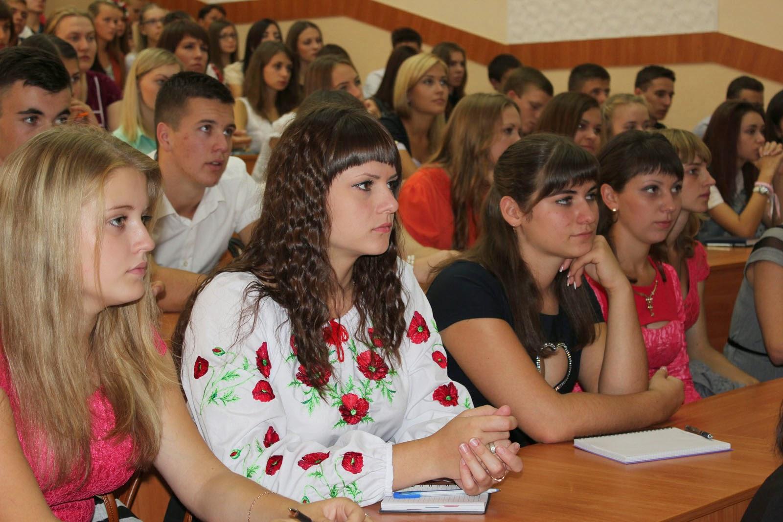 Посвята у студенти на обліково-фінансовому факультеті. Фото 4.