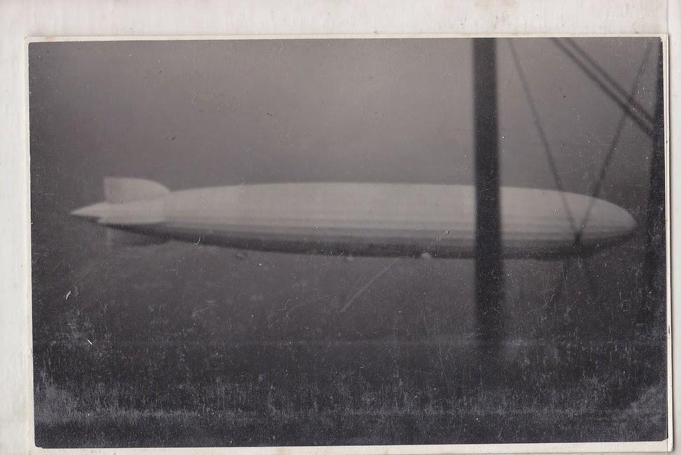 Zeppelin deasupra Brasovului