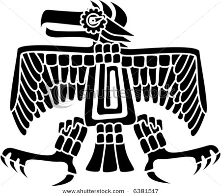 Aztec Symbols of Strength and Courage