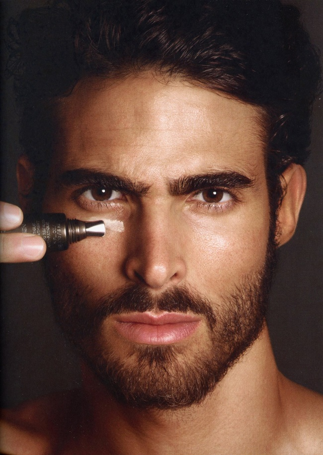 Tom Ford Men Skincare and Grooming Campaign 2013 featuring Juan Betancourt