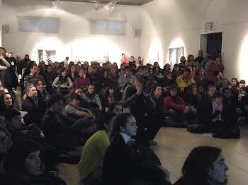 Cerca de 200 asistentes a la Charla en MUMBAT.