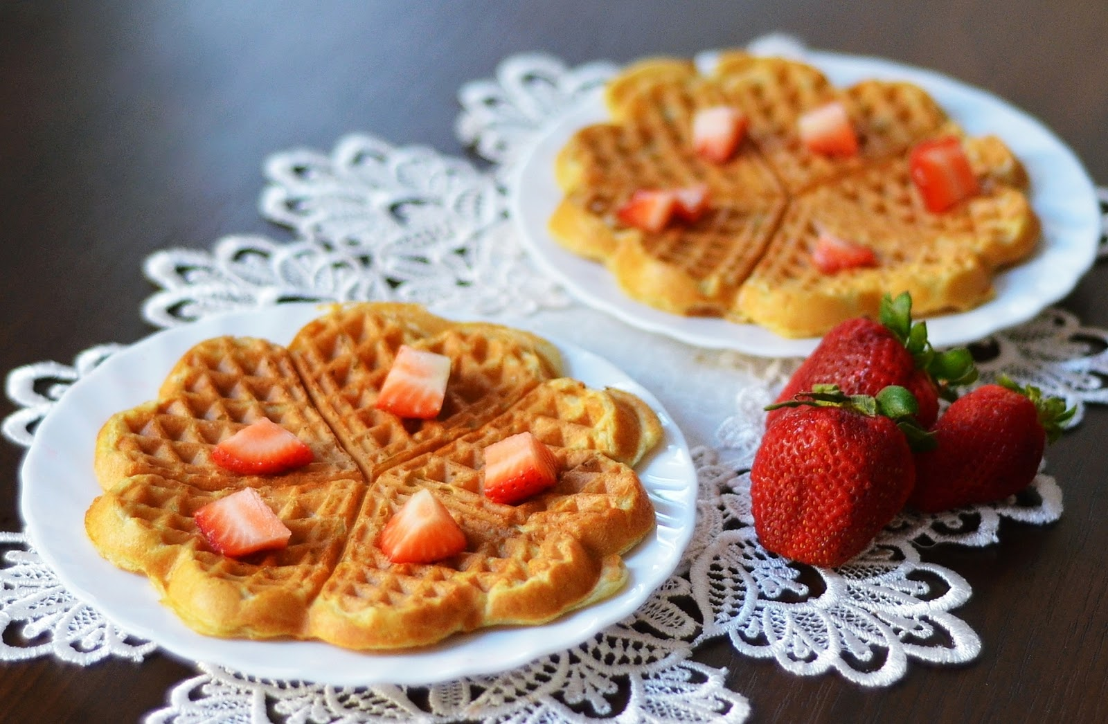 vegan coconut milk waffles