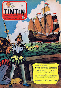Recueil de récits courts dans Tintin (édition belge)
