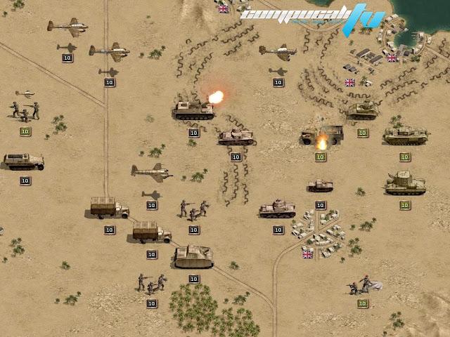 Panzer Corps Afrika Korps PC Full Fairlight Descargar 2012