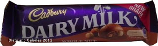 Cadbury Dairy Milk Whole Nut chocolate