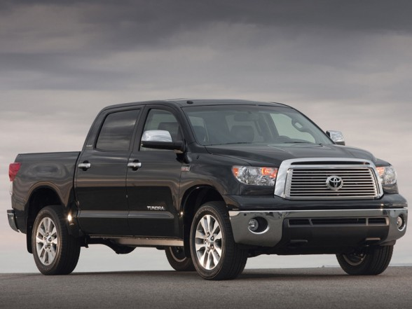 2010 toyota tundra crewmax front side