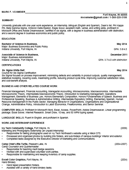 Mark S Resume Blog