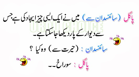 do pagal lateefa urdu choice   best urdu portal