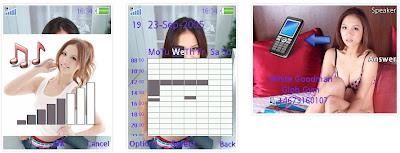 林采缇SonyEricsson手機主題for Elm/Hazel/Yari/W20﹝240x320﹞