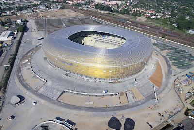 Estadio stadium PGE Arena Gdansk Polonia Poland soccer futbol