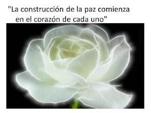 ¿Donde se empieza a construir la Paz?