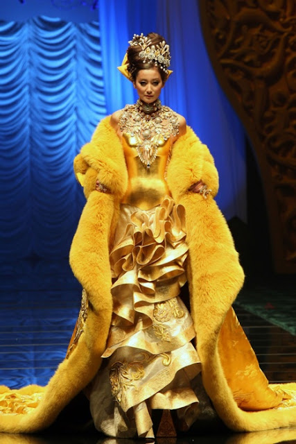 China's Guo Pei at Digital Fashion Week