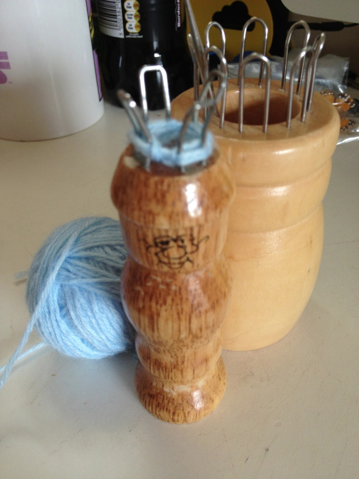 Knitting Nancy Machine : Craftyandcake knitting nancy and looms with a