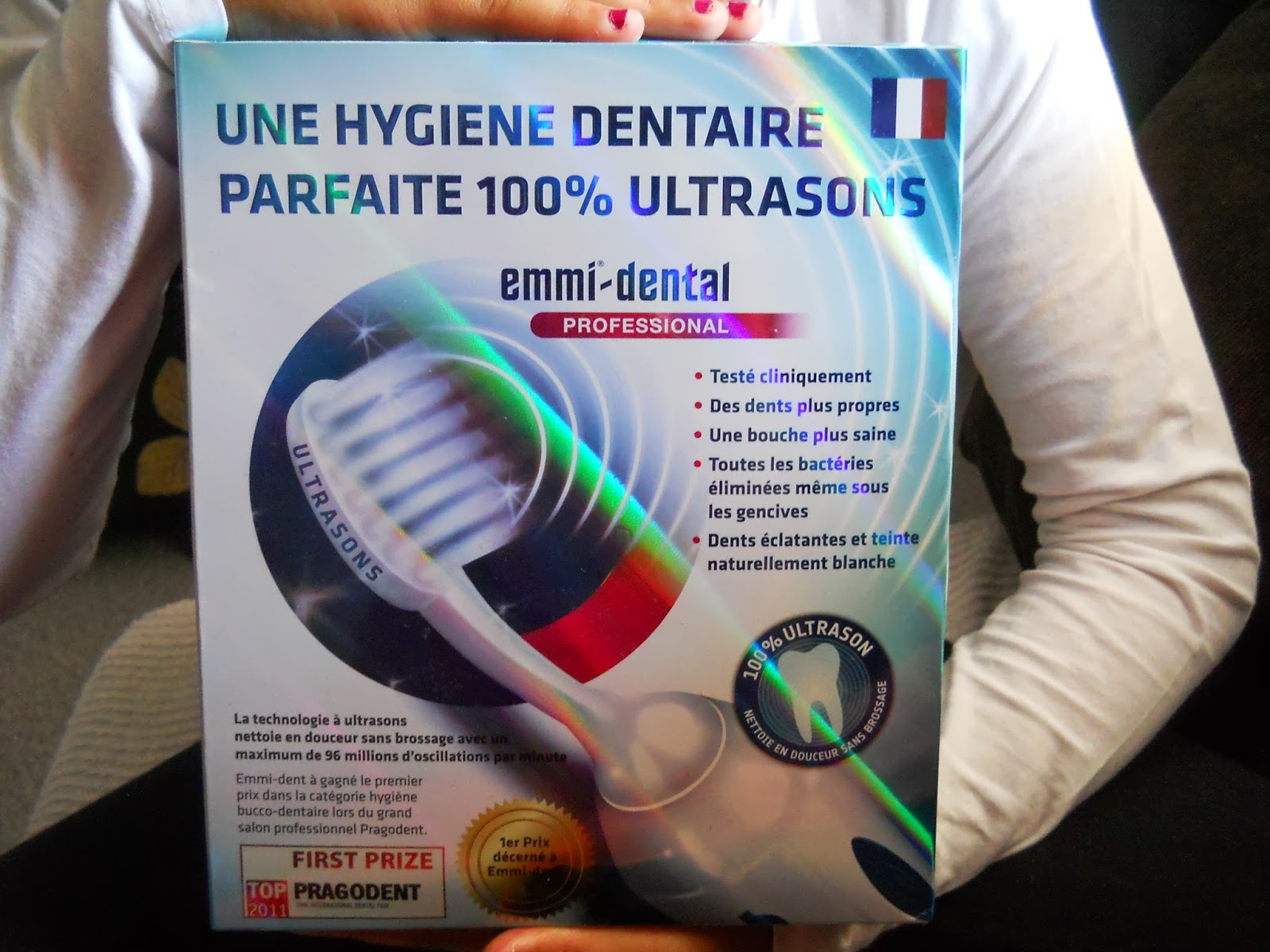 brosse dents ultrasons