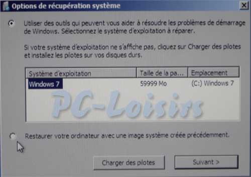 comment reparer des erreur windows 7