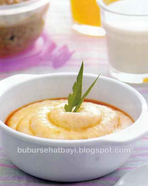 Bubur Jagung Kacang Hijau Saus Gula Merah - http://bubursehatbayi ...