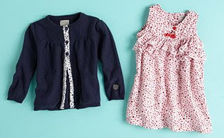 MyHabit: Save Up to 60% off Kanz for Baby Girls: Pretty ruffled dresses. Sweet embroidered t-shirts. Ready-for-anything jeans. These might be wardrobe basics, but they hardly feel ordinary.