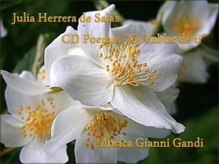 "CD Poemas ""Oí hablar de ti"""