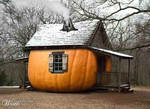 halloween pumpkin house by - photo #9