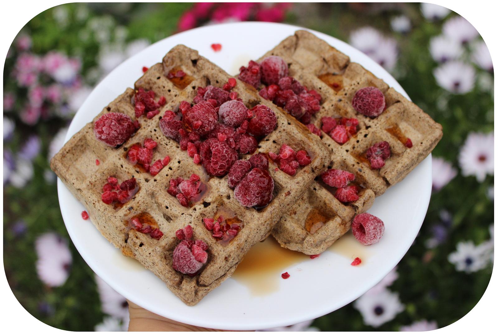Image Result For Receta Waffles Veganos