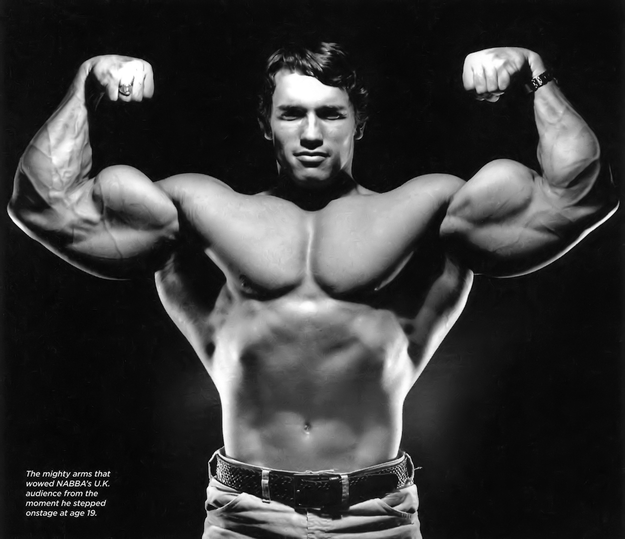 New Gym Muscle Bodybuilding Black Leather Fitness Lifting: Almost Perfect: Arnold Schwarenegger