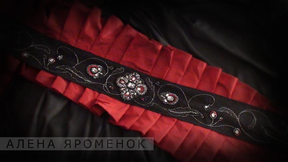 Пояса для каратэ киокушинкай с вышивкой. Экипировка для
