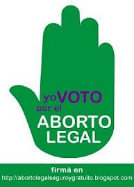Firmá por el derecho al aborto!!!